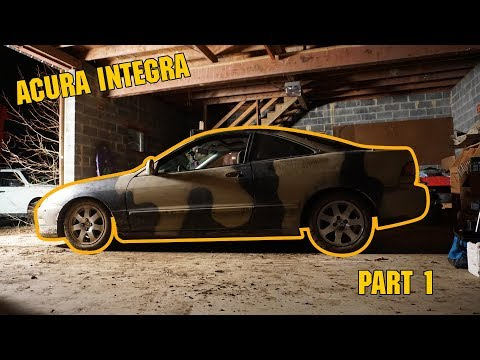 Acura Integra Autocross Build Part 1