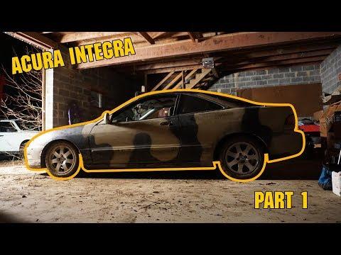 Acura Integra Autocross Build Part 1