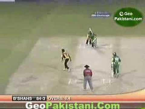 Lahore Badshahs V Mumbai Champs ICL T20 3.21.08 P2of 6