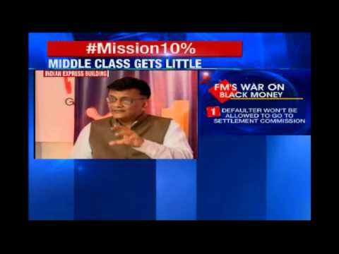 NewsX - The Financial Express round table