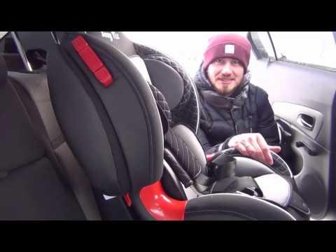 Установка детского автокресла в машину