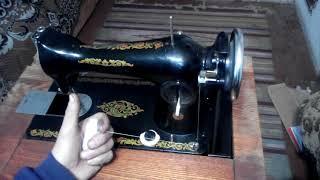 Как заправить нитку на швейную машинку