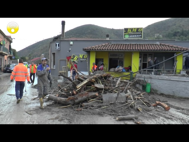 Dopo alluvione: il sindaco di Cisano fa il punto della situazione: video #1