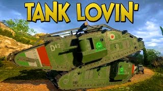 TANK LOVIN!! - Battlefield 1 Funny and Epic Moments