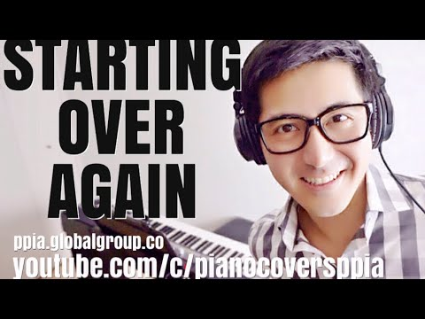 Starting Over Again - Michael Masser- PianoCoversPPIA