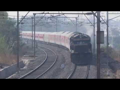 EMD powered speedy Jaipur Premium Express : Indian Railways : DYNAMIC FARE