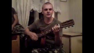 Демобилизация В бытовке, музыка на гитаре