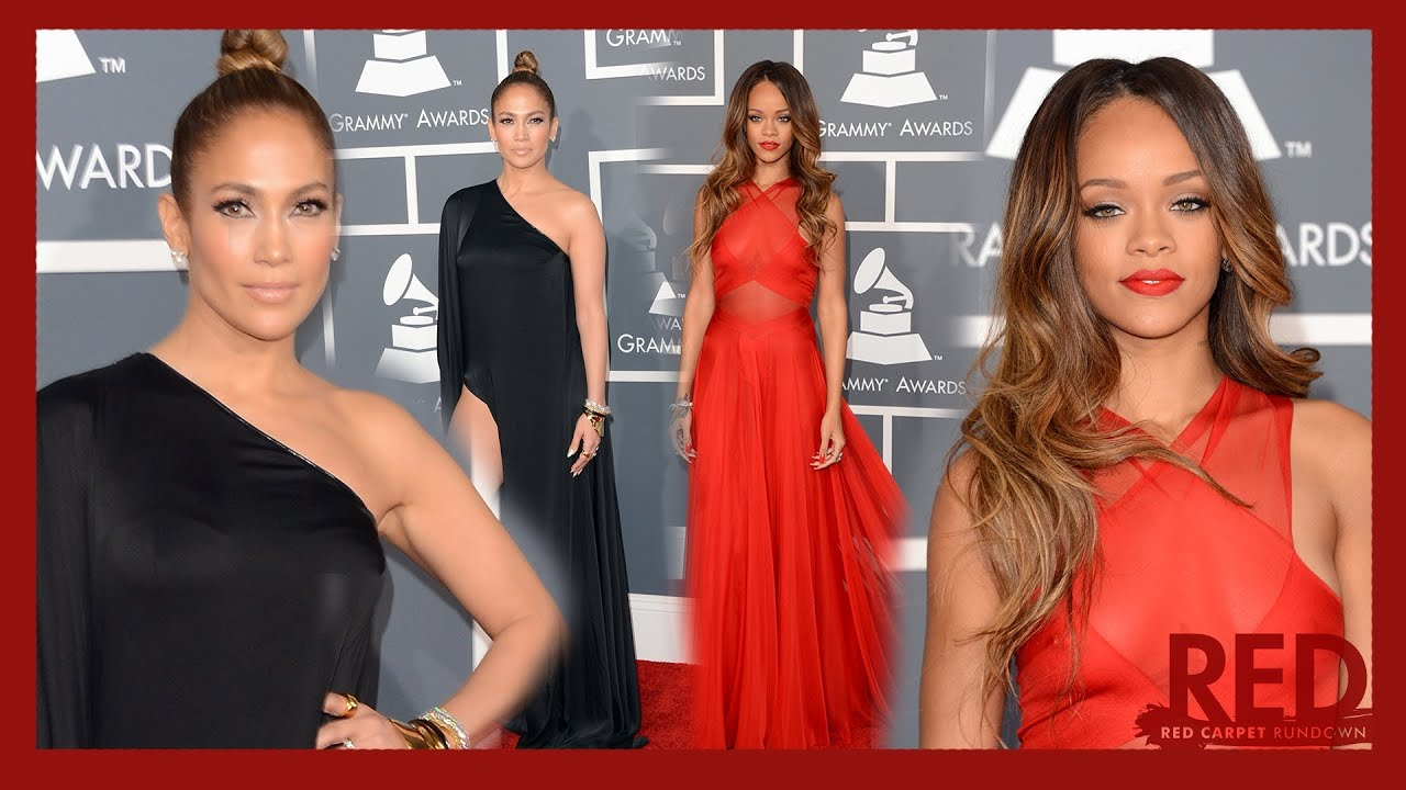 Rihanna 2013 Grammy Dress