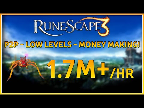 RuneScape 3 | Money Making Guide 2016 | Low Levels | 1.7M+ / HR!