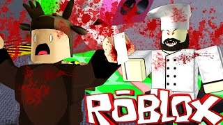 Roblox Adventures / Escape the Butcher Shop Obby / EVIL BUTCHER MURDERER!