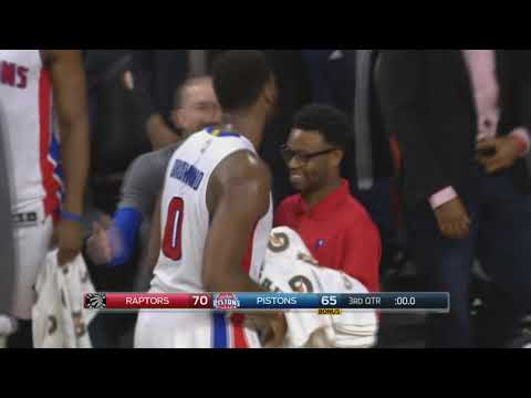 Detroit Pistons' Andre Drummond will be a three-point asset in 2019-20