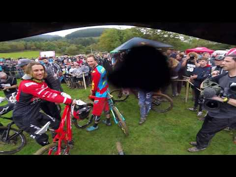 Dan Atherton Red Bull Hardline Finals run on GoPro :Back in the Flow
