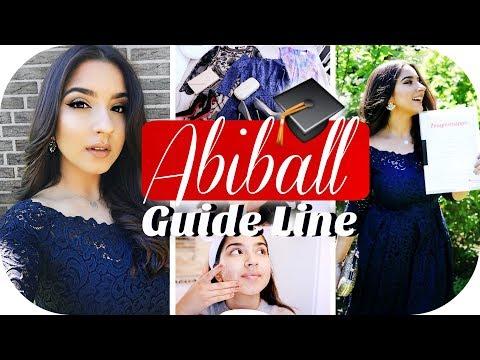 Mein Abiball Make Up Frisur Kleid Youtube