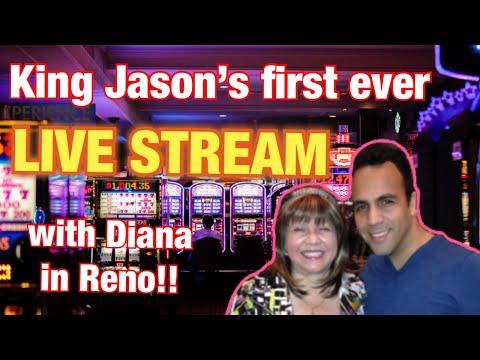King Jason 1st Ever LIVE STREAM W/Diana!!