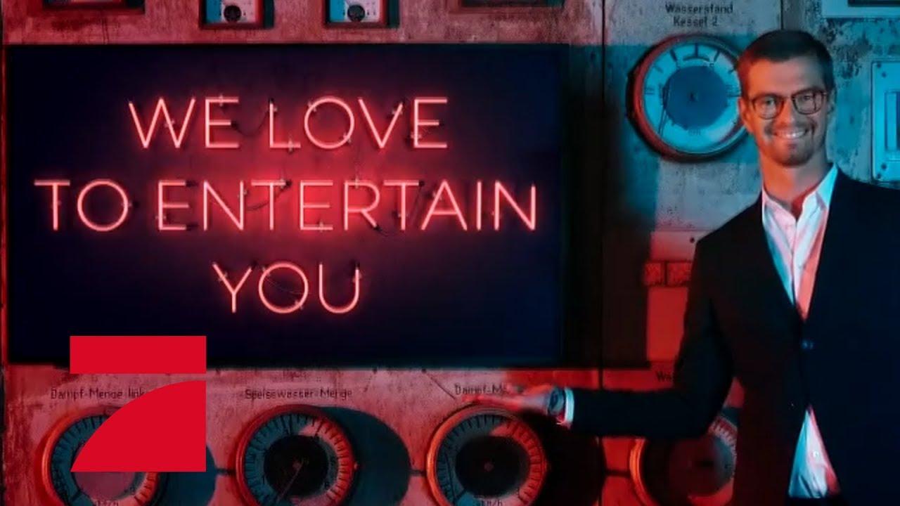 We love to entertain you! Everywhere! | ProSieben - YouTube