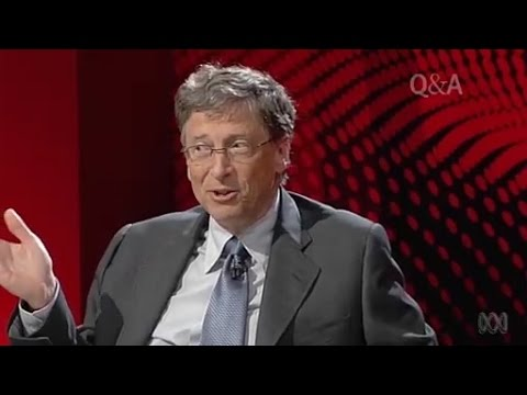 Bill Gates on Robotic Warfare, AI Superintelligence and Cheating Death - Q&A