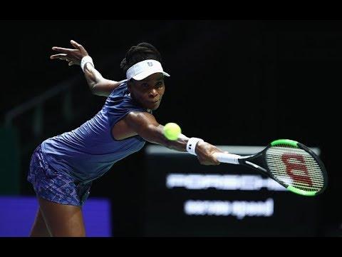 2017 WTA Finals Round Robin | Venus Williams vs. Garbiñe Muguruza | WTA Highlights
