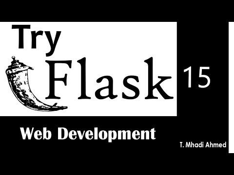 15 -  Flask Web Development -  Database API - add user   Register form