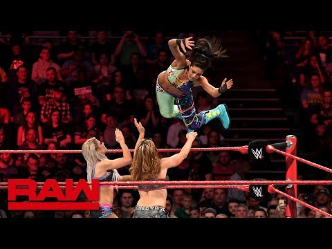 Bayley vs. Alexa Bliss vs. Mickie James - Money in the Bank Qualifying Match: Raw, May 14, 2018