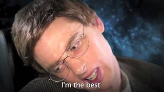 (Clean) Einstein vs Stephen Hawking -Epic Rap Battles of History #7 (HD)