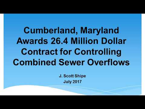 Cumberland, Maryland Combined Sewer Overflow Project