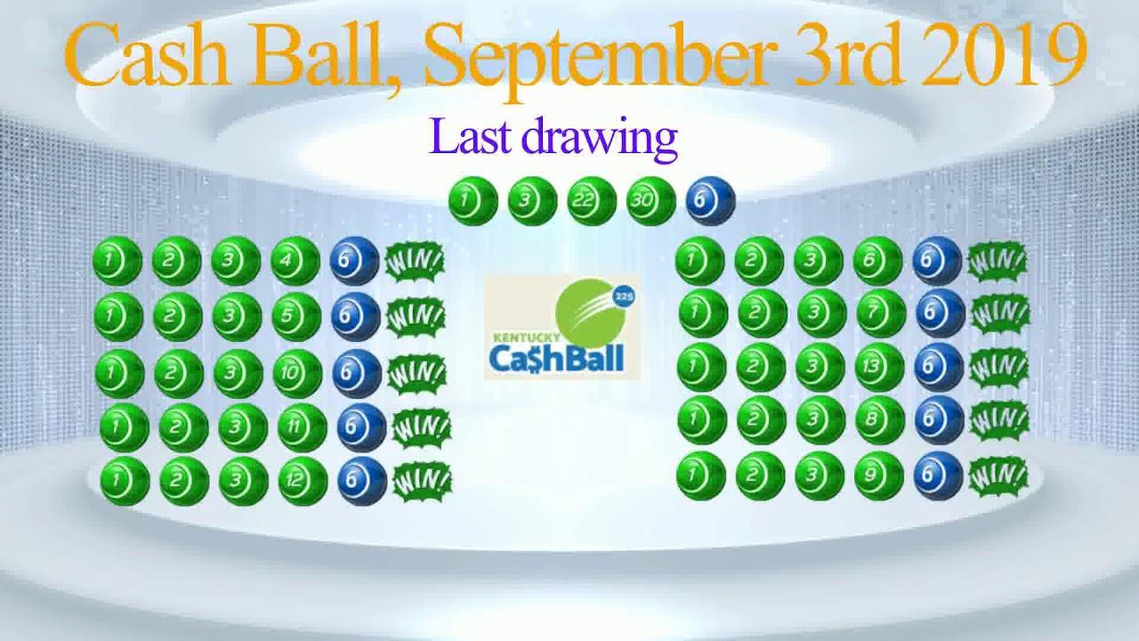 250$!! 10 winning forecasts on Cash Ball Kentucky, 3rd September 2019