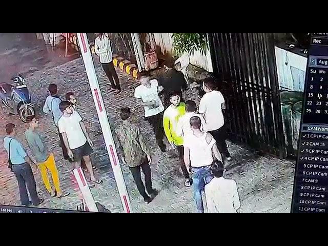 मारपीट का वीडियो