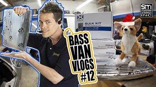 NVX Sound Deadener REVIEW AND INSTALL! - The Bass Van Vlogs #12