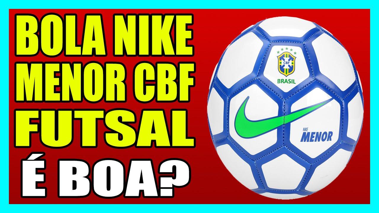 c338bc1104 BOLA NIKE MENOR CBF FUTSAL - Bola