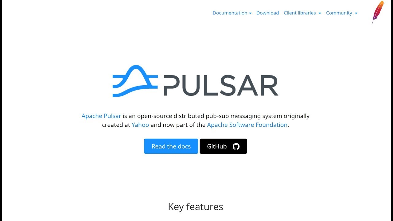 Introduction to The Apache Pulsar Messaging System