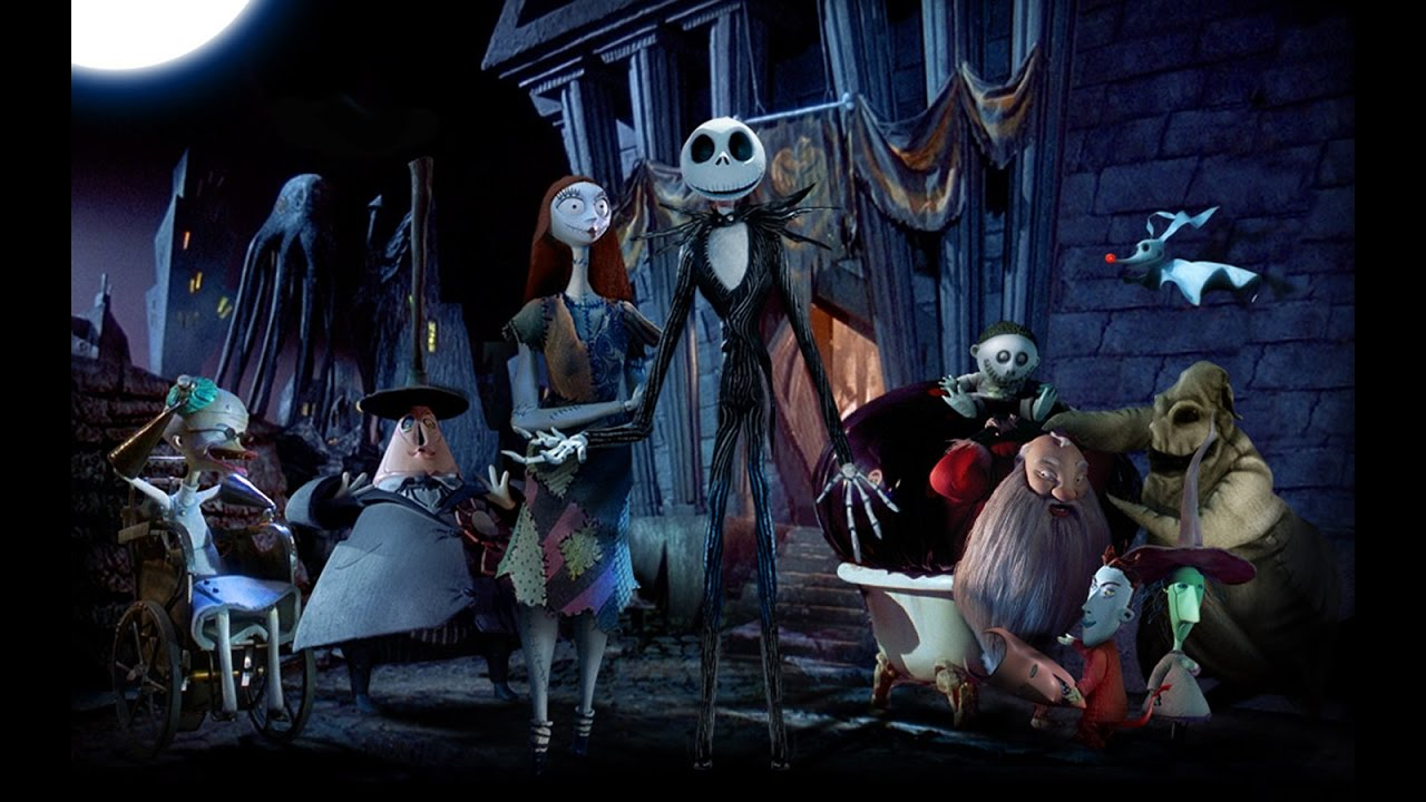 Nightmare Before Christmas Making Christmas(HD) - YouTube