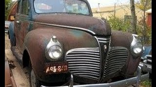 Field Find! 1941 Plymouth Road King Walk-Around.