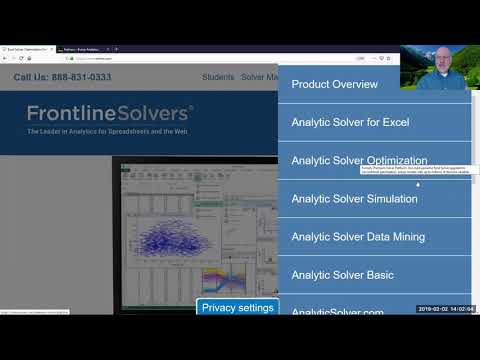 Partnership with Frontline Systems, Inc  Announcement – Kunze Analytics