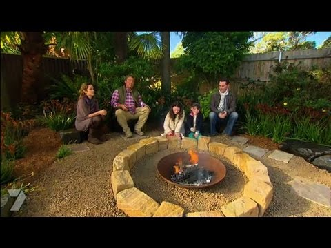 Gardening Fire Pit Makeover Part 2 Ep 22 28062013 YouTube