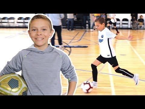 5 GOALS At Futsal Soccer Game ⚽️⚽️⚽️⚽️⚽️ Tayden Dyches
