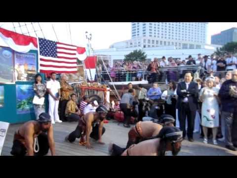 """KRI Dewa Ruci, New Orleans, LA, USA """"Indonesian Night 19 April 2012"""" - part 2"""