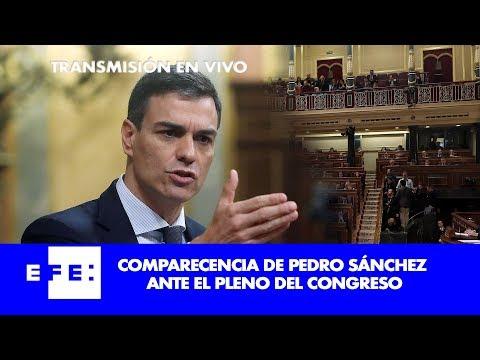 Sigue en directo la comparecencia de Pedro Sánchez ante el Pleno del Congreso