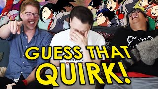 Guess that My Hero Academia Quirk Challenge | ft. Island Arcade & HERMSAUR