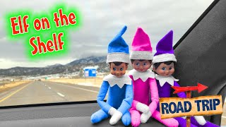 Elf on the Shelf Road Trip!!!