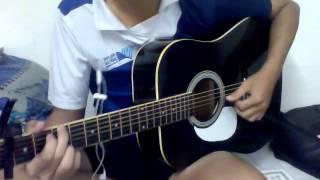 Tựa vào vai anh - guitar cover