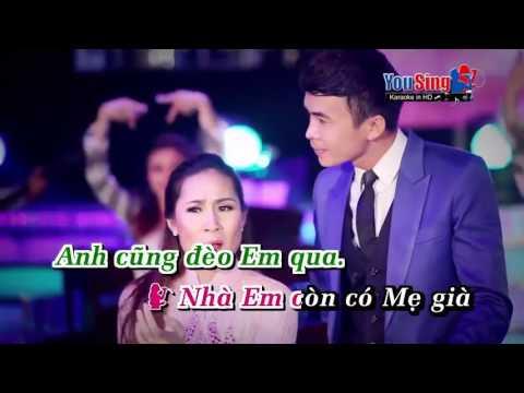 Yêu Sao Cái Thuở Ban Đầu Karaoke Giáng Tiên ft Trường Sơn TT HD