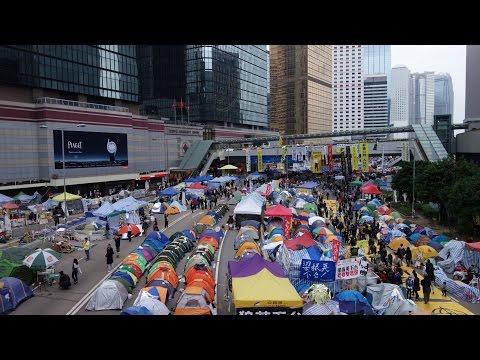 HONG KONG PROTEST: Umbrella Revolution at Admiralty