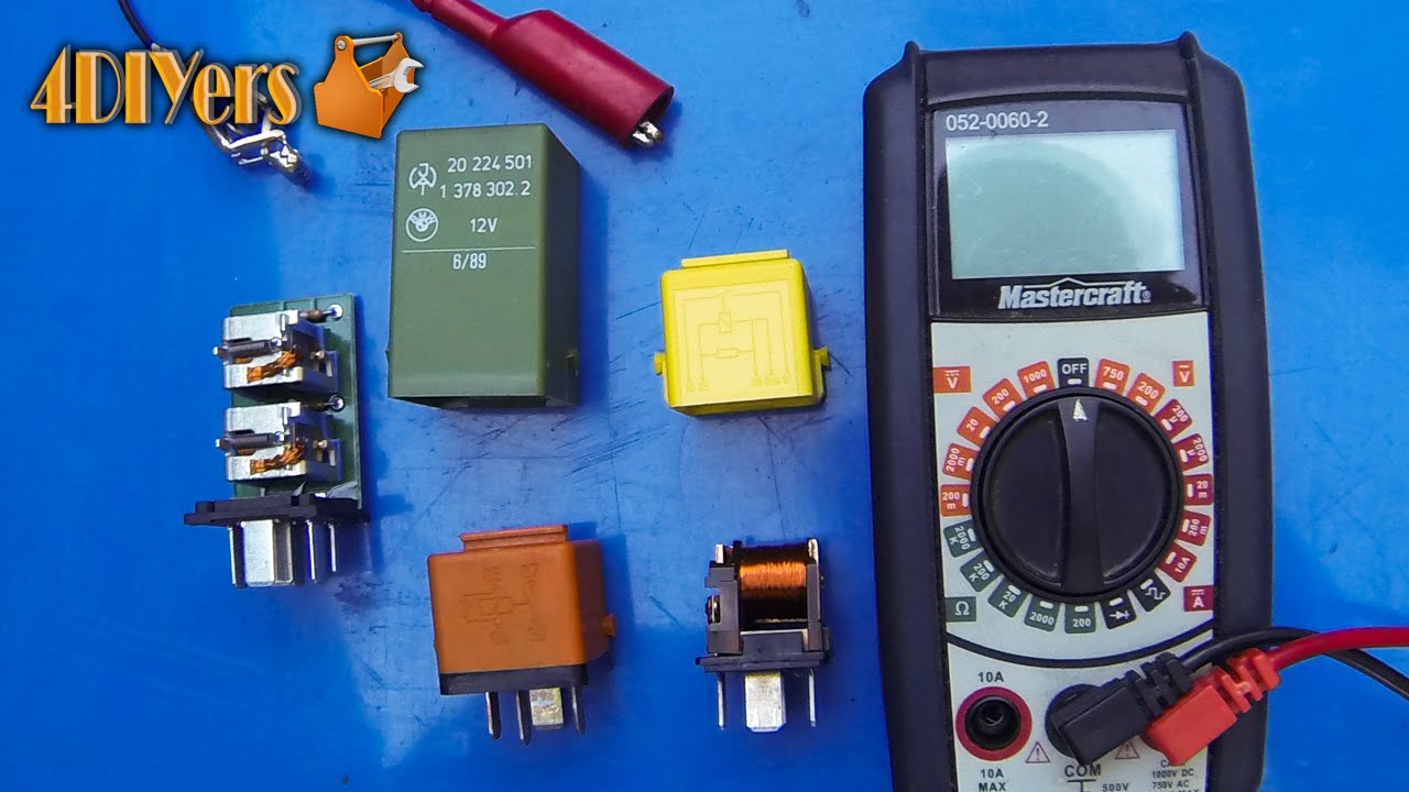DIY How To Test A Relay YouTube - How to test 12v 5 pin relay