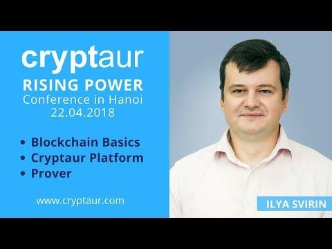 Cryptaur / Rising Power: Blockchain, Cryptaur, Prover