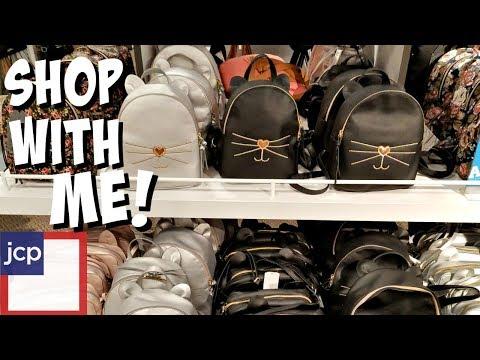 Shop With Me ! JCPenny Handbags Nicole Miller, Liz Claiborne 2017