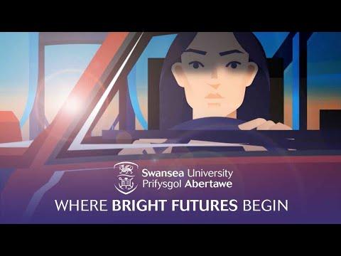 Swansea University Undergraduate Recruitment Animation - Where Bright Futures Begin