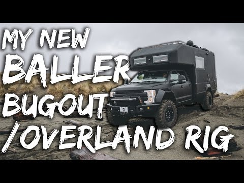 EARTHROAMER TOUR / Review - BALLER Overland / Bugout Rig of DESTINY