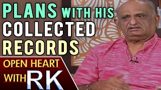 Film Historian VAK Ranga Rao about future Plans with His Collected Records | Open Heart With RK