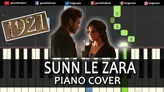 Sun Le Zara Song 1921 | Piano Cover Chords Instrumental By Ganesh Kini
