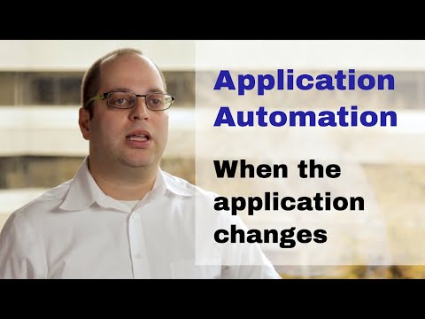 Robotic Automation - When underlying Applications Change